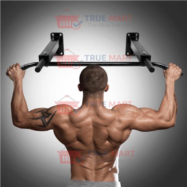 le rapport qualité prix sélection premium plus bas rabais Wall Mounted Ultimate Body Press Pull up Bar / Chin Up Bar - 3 Grip  Positions