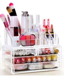 makeup organizer acrylic cosmetics box-12-lipstick-holder-drawer-1