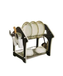 dish and plates drainer rack for kitchen