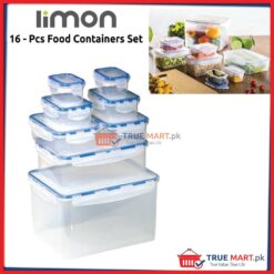 sixteen pieces freezer food containers storage boxes
