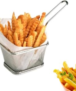 Stainless Steel Mini Square Fry Basket